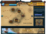 Treasure Hunter Beyond the Arc interface
