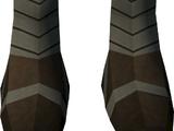 Highland boots (blue, female)