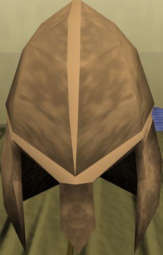 Elmo de bronze completo