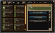 Clan Citadels interface Building tab (information)