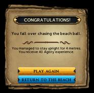 Beach Ball Rolling win interface