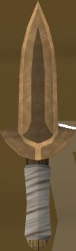Adaga de bronze
