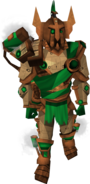 Dwarven Warsuit outfit equipped (male)