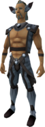 Fox outfit equipped (male)