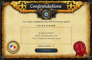 Witch's House reward