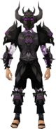 Malevolent armour set (shadow) equipped