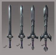 Wilderness Swords concept art