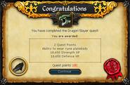 Dragon Slayer reward