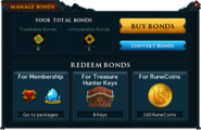 Manage Bonds (Summer Membership Package 2014)