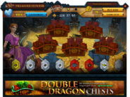 Treasure Hunter Double Dragon chests