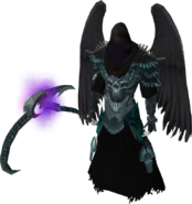 Cursed Reaver outfit equipped (male)