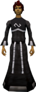 Replica Void Knight armour equipped