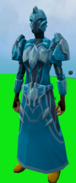 Tectonic armour (ice) equipped