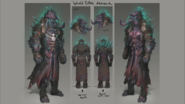 World Eater Armour concept art