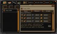 Clan Citadels interface Customisation tab (options)