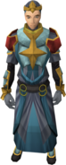 Envoy of Order outfit equipped (female)