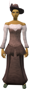 Audience costume (female, maroon) equipped.png