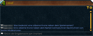 Spieler-Moderator-im Chat