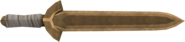 Bronze sword detail