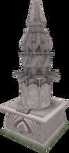 2014 Prifddinas statue.png