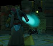 Saradomin takes the wand