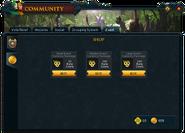 Community (Zodiac Festival) interface 2