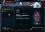 Powers (Magic) interface