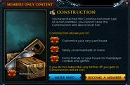 Construction popup