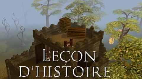 Leçon d'histoire (Quête) - RuneScape 3