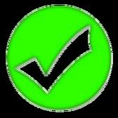 9527502-zielony-ptaszek-znak-ilustracji-nad-biaa--ym-ta--em
