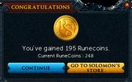 Redeemed a bond for RuneCoins