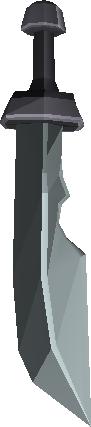 Espada cerimonial de ferro ii