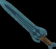Rune sword detail