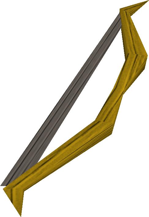 Arco curto de carvalho