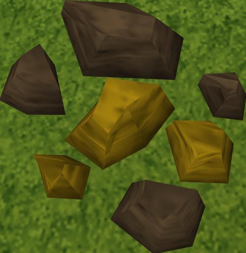 Minério de ouro