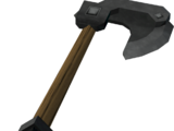 Iron hatchet