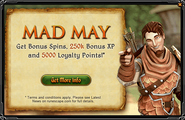 Mad May interface