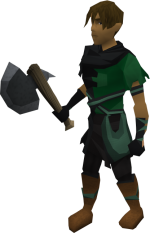150px-Primal hatchet equipped.png