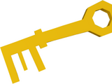 Dusty key