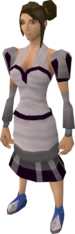 White elegant clothing (female) equipped.png