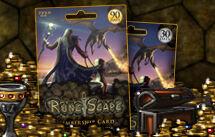 RuneScape pre-pay card.