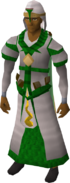 Guthix vestments equipped