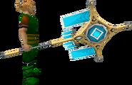 Banner of Seren (tier 4) equipped