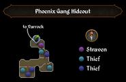 Phoenix Gang Hideout map