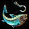 Fishing logo detail