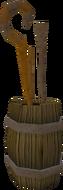 Zaff's Staves Display Barrel