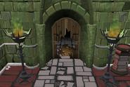 Crucible entrance inside