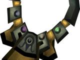 Shining alchemist's amulet