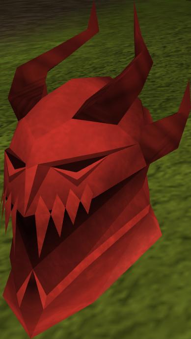 Elmo de dragão completo