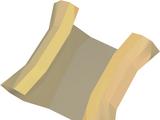 Sandy Clue Scroll